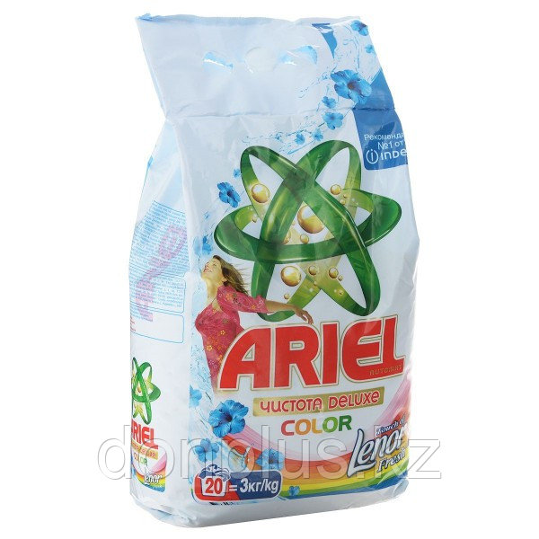 Ariel чистота DELUXE touch of lenor fresh 3 кг