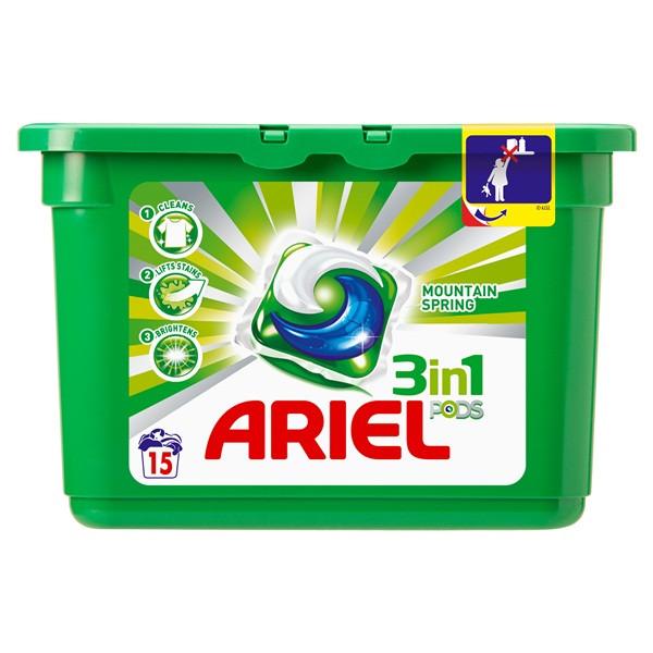 Ariel Liquid Capsules Горный родник 432 г