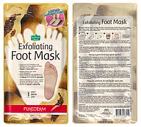 Носочки-пилинг Purederm Exfoliating Foot Mask