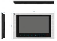 Цветной видеодомофон Optimus VM-10, фото 2