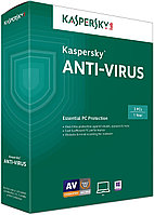 Kaspersky Anti-Virus на 2 ПК / 1 год