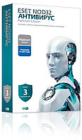 ESET NOD32 Антивирус Platinum Edition на 3ПК/2года