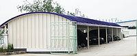 Изготовление металлоконструкций для арочных зданий, складов, ангаров из стали Заказчика, фото 1