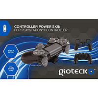 PS4 Gioteck Controller Power Skin Black 843491