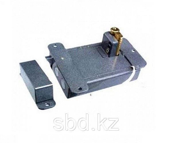 Электромеханический замок Полис 11М-01 без блокировки (серебро)