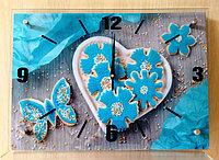 """Часы-картина настенные """"Печенька"""",стекло, фото 1"""