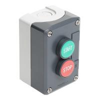 XALD215 Кноп. Пост 2 кнопки с возвратом xald215