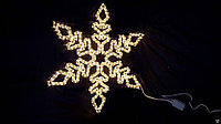 Снежинка  из дюралайта  S-011
