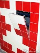 Люк под покраску для монтажа в стену (без петель) 200*400