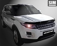 Мухобойка (дефлектор капота) Land Rover Evoque 2011-