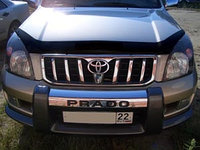 Мухобойка (дефлектор капота) Toyota Land Cruiser Prado 120 2003-2008