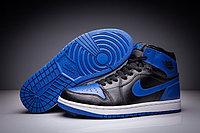 """Кожаные кроссовки Air Jordan 1 Retro """"Royal Blue"""" (36-47), фото 1"""