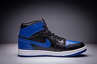 """Кожаные кроссовки Air Jordan 1 Retro """"Royal Blue"""" (36-47), фото 4"""