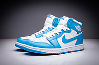 "Кроссовки Air Jordan 1 (One) ""Sky Blue White"" (36-47), фото 1"