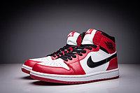 """Кожаные кроссовки Air Jordan 1 Retro """"Chicago Bulls"""" (36-47), фото 3"""