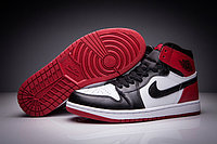 "Кроссовки Air Jordan 1 (One) ""Fragment Design"" Black White Red (36-47)"