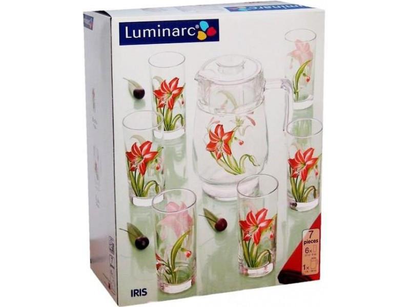 Графин со стаканами Luminarc IRIS(7 пр)