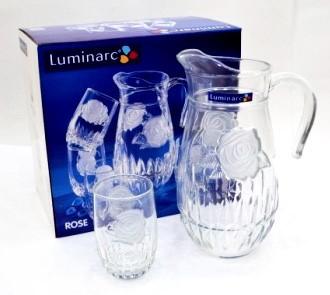 Графин со стаканами Luminarc Rose(7 пр)