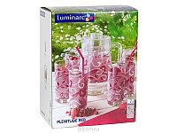 Графин со стаканами Luminarc Plenitude Red(7 пр)
