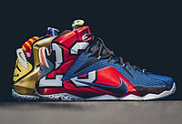 "Кроссовки Nike LeBron XII (12) ""What The"" (40-46)"