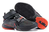 Кроссовки Nike LeBron Zoom Soldier 9 (IX) Black Red (40-46)