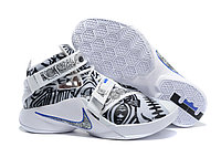 Кроссовки Nike LeBron Zoom Soldier 9 (IX) Grey White (40-46)