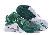 Кроссовки Nike LeBron Zoom Soldier 9 (IX) Green White (40-46)