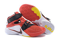 Кроссовки Nike LeBron Zoom Soldier 9 (IX) Red White Black (40-46)