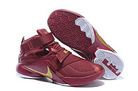Кроссовки Nike LeBron Zoom Soldier 9 (IX) Vine Red White Gold (40-46)