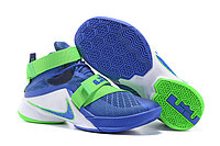 Кроссовки Nike LeBron Zoom Soldier 9 (IX) Green Blue White (40-46)