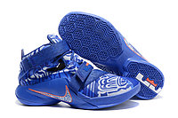 Кроссовки Nike LeBron Zoom Soldier 9 (IX) Blue White (40-46)