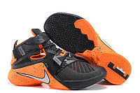 Кроссовки Nike LeBron Zoom Soldier 9 (IX) Black Orange (40-46), фото 1