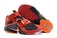 Кроссовки Nike LeBron Zoom Soldier 9 (IX) Black Orange Red (40-46)