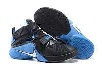 Кроссовки Nike LeBron Zoom Soldier 9 (IX) Black Blue (40-46), фото 1