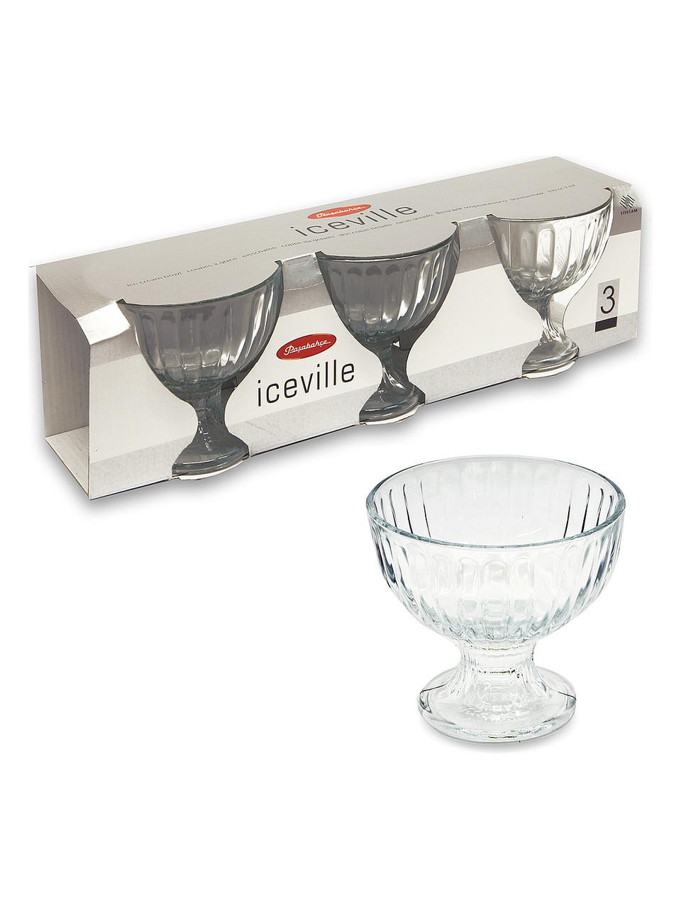 Набор креманок -3шт Ice Ville  Pasabahce  51018