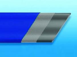 Рукав серии 204 плоский пвх шланг для оросительных систем, полей, теплиц