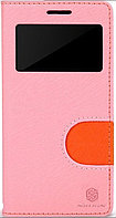 Чехол Nillkin In-fashion Leather Case для Samsung Galaxy Mega 6.3 i9200 розовый