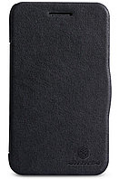 Чехол Nillkin Leather case для Blackberry Q5 черный