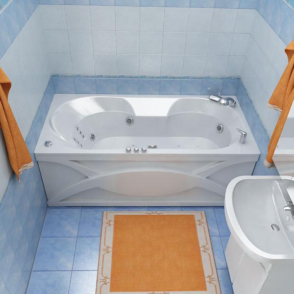 Акриловая ванна ВАЛЕРИ 170*85*64