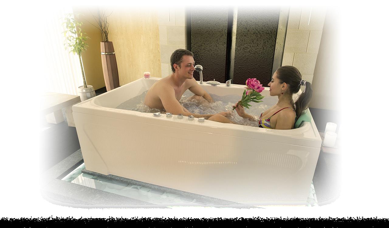 Акриловая ванна СОНАТА 180*115*61