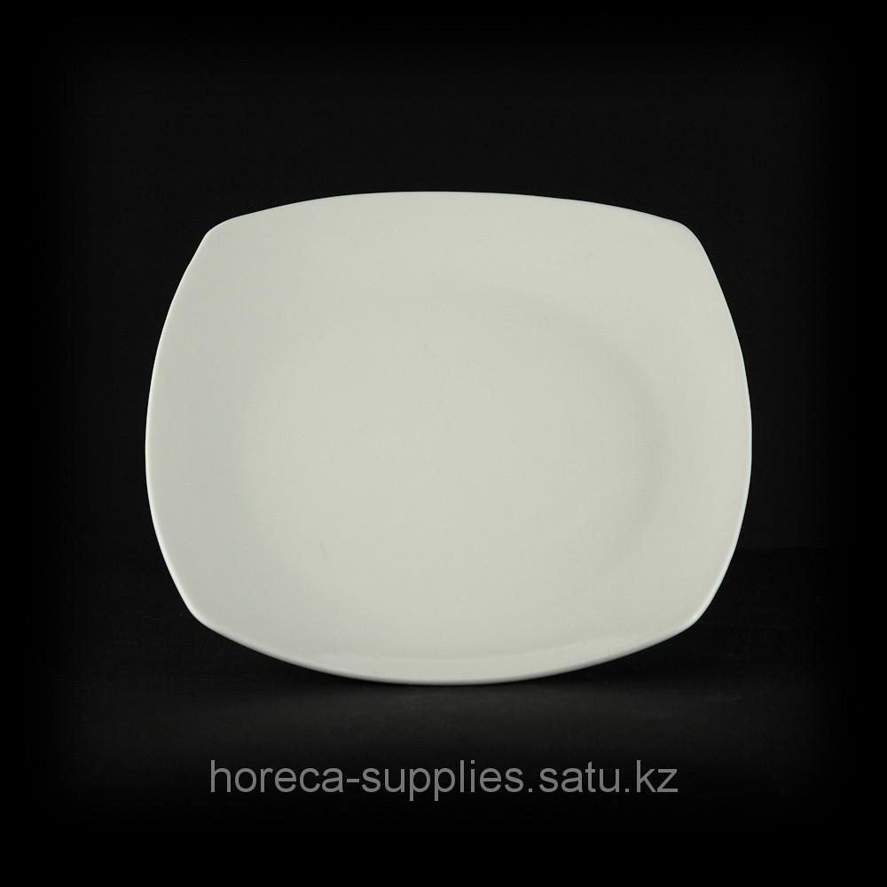 Тарелка квадратная «Chan Wave» 200 мм [ivory LQ-QD0128В]