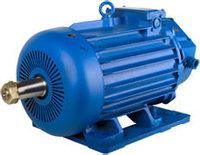 Электродвигатель MTKH 412-8 крановый трёхфазный асинхронный 22 кВт 700 об./мин.