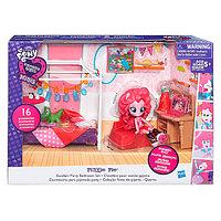 My Little Pony B8824 Май Литл Пони Equestria Girls Игровой набор мини-кукол Пижамная вечеринка