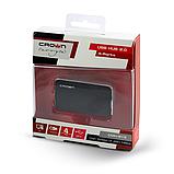 USB-хаб Crown CMH-B19 BLACK/SILVER, фото 5