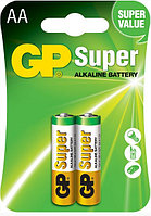 Батарейки LR6 AA 2 шт GP Batteries super alkaline