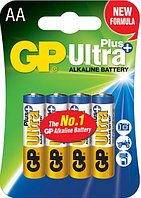 Батарейки LR6 AA 4 шт GP Batteries Ultra plus alkaline