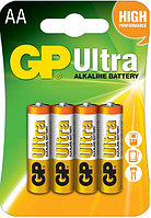 Батарейки LR6 AA 4 шт GP Batteries Ultra alkaline