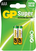 Батарейки LR03 АAA 2 шт GP Batteries super alkaline