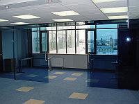 Офисные перегородки из алюминиевого профиля, фото 1