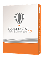 CorelDRAW Home & Student Suite X8 для дома и учебы